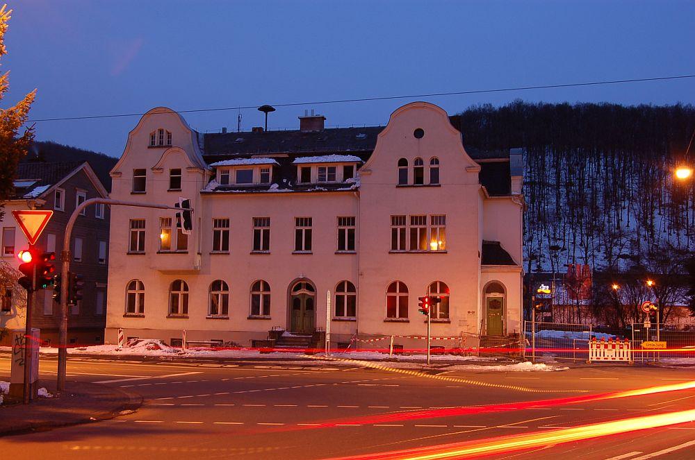 Old townhall in Freudenberg before destruction
