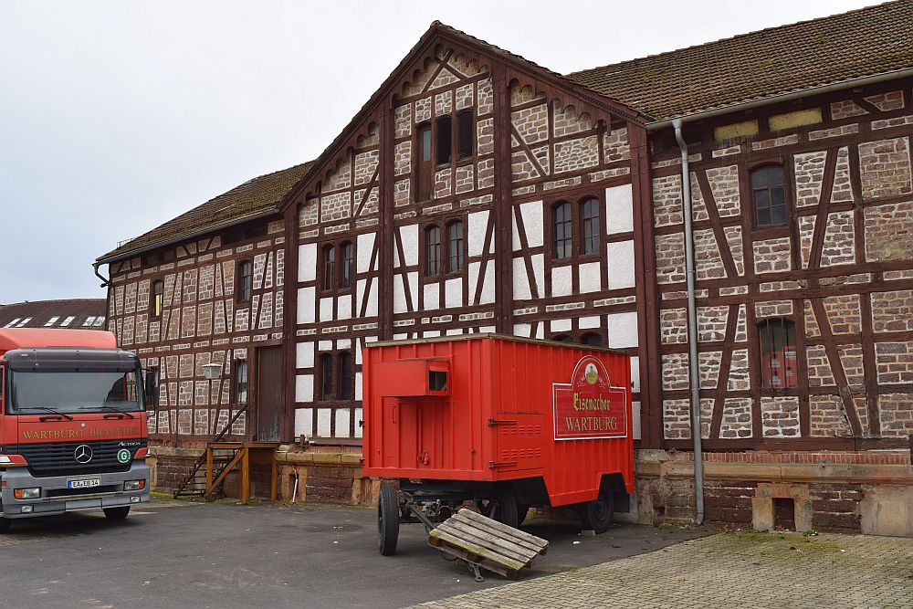 Former brewery in Eisenach