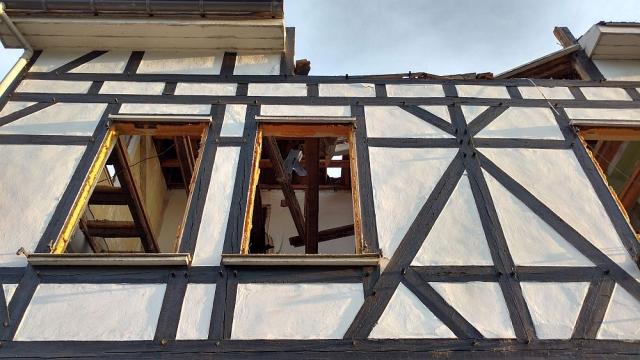 Half-timber work